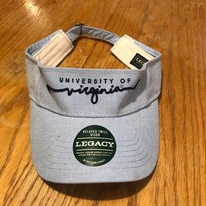 Chambray University of Virginia visor.  New